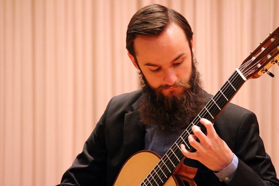 Nikolay Gavlishin brings classical guitar to Centre Theater for First Sunday free concert