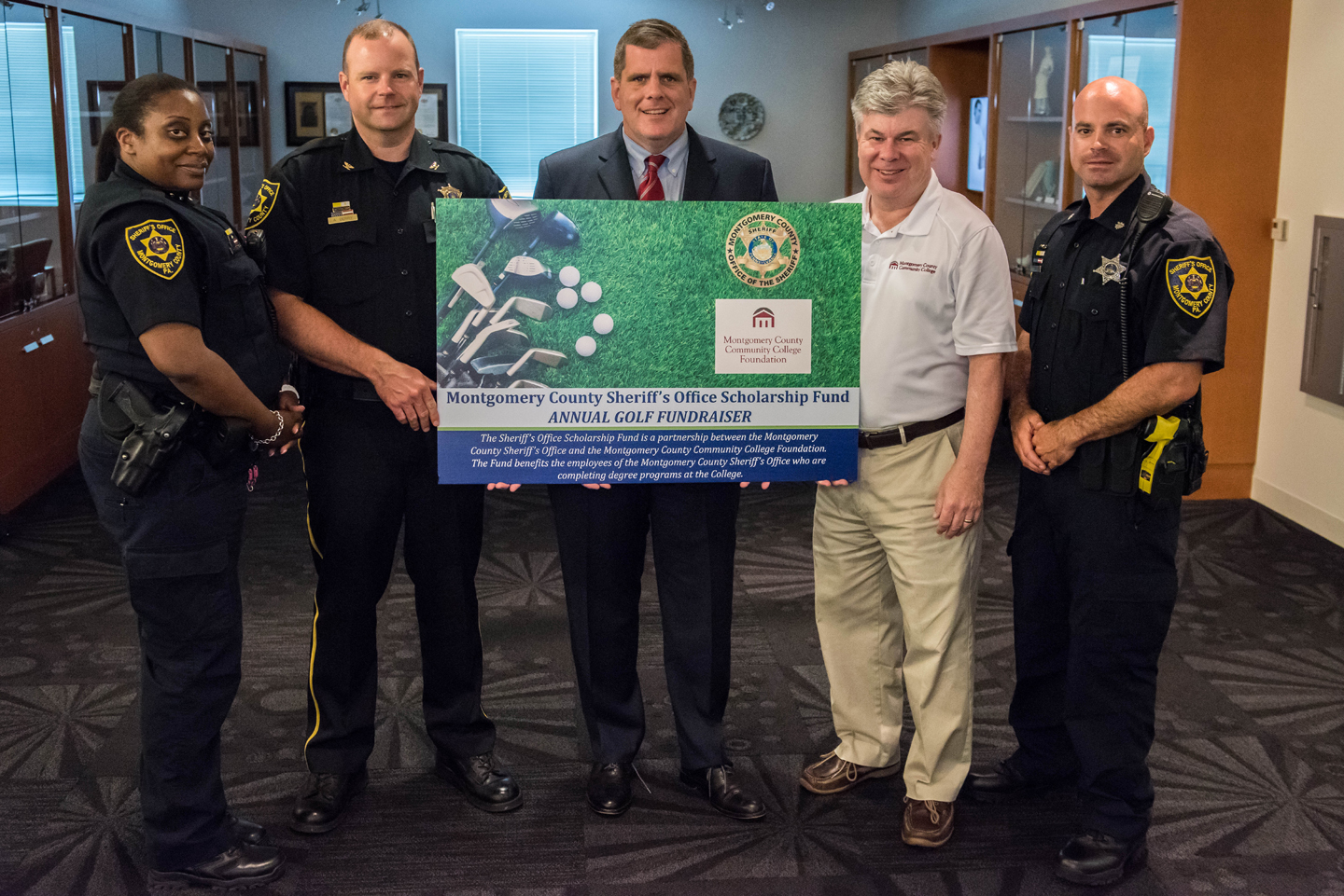 Montco Sheriff to hold 2nd annual Sheriff's Office Scholarship Fund golf event