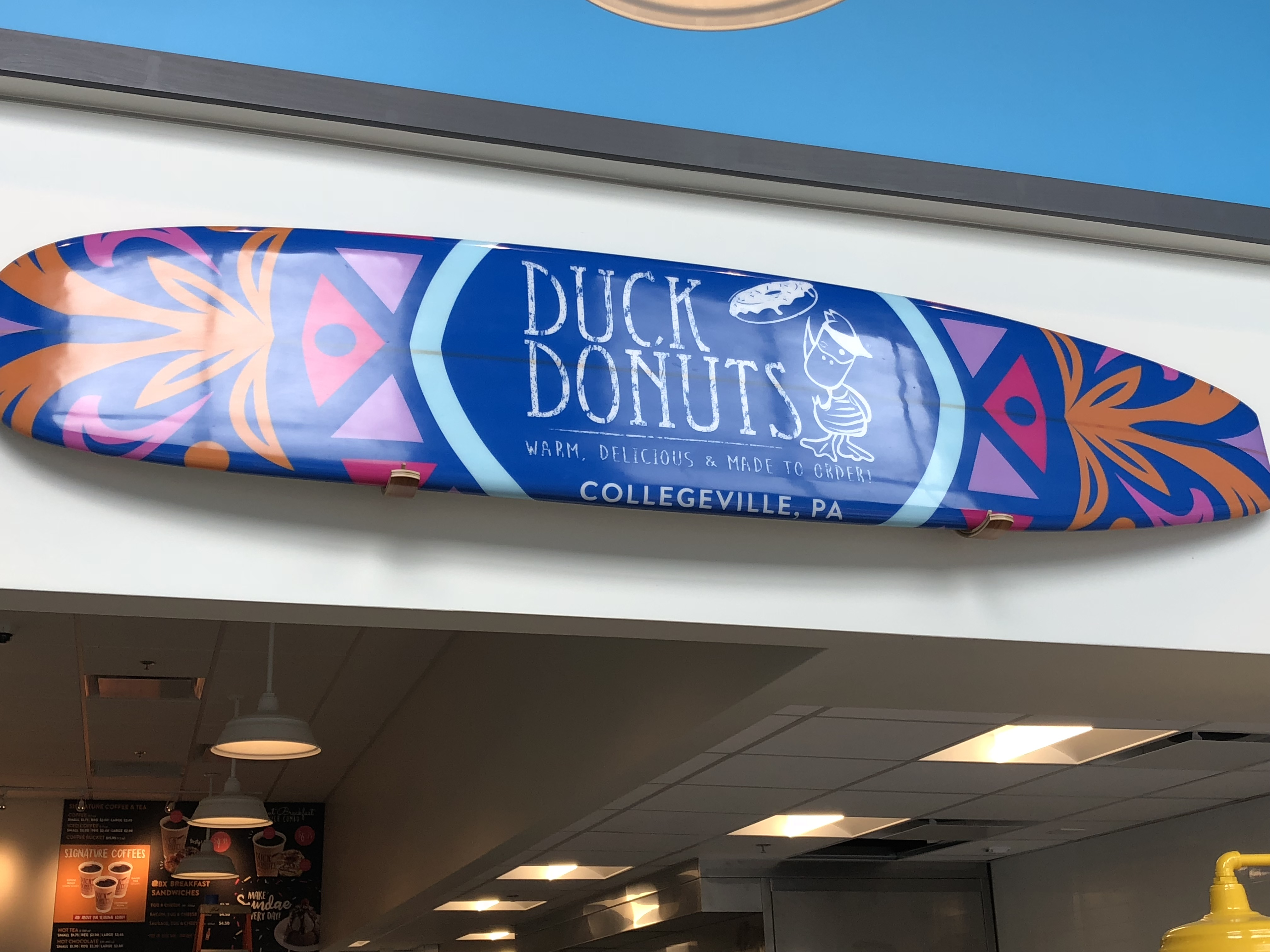 Duck Donuts announces opening of newest location in Collegeville