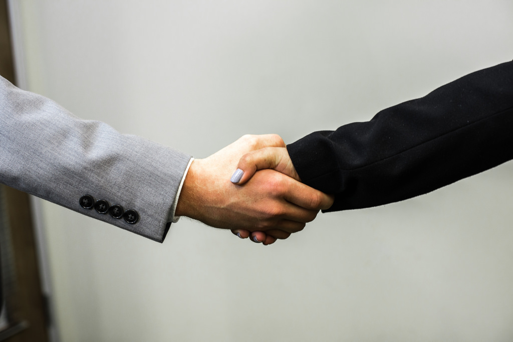 These types of handshakes could hurt your influence