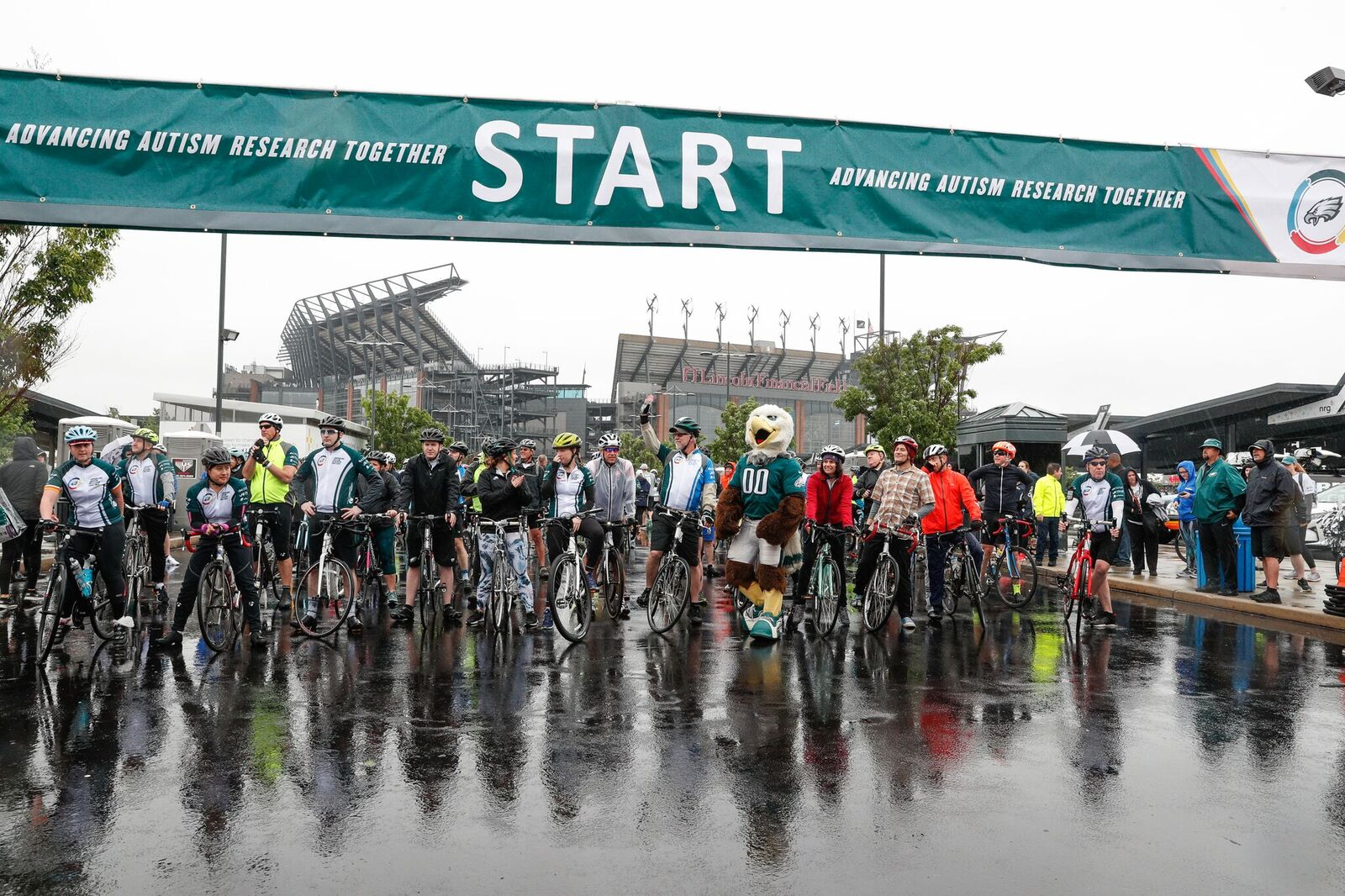 Second annual Eagles Autism Challenge at Lincoln Financial Field Friday