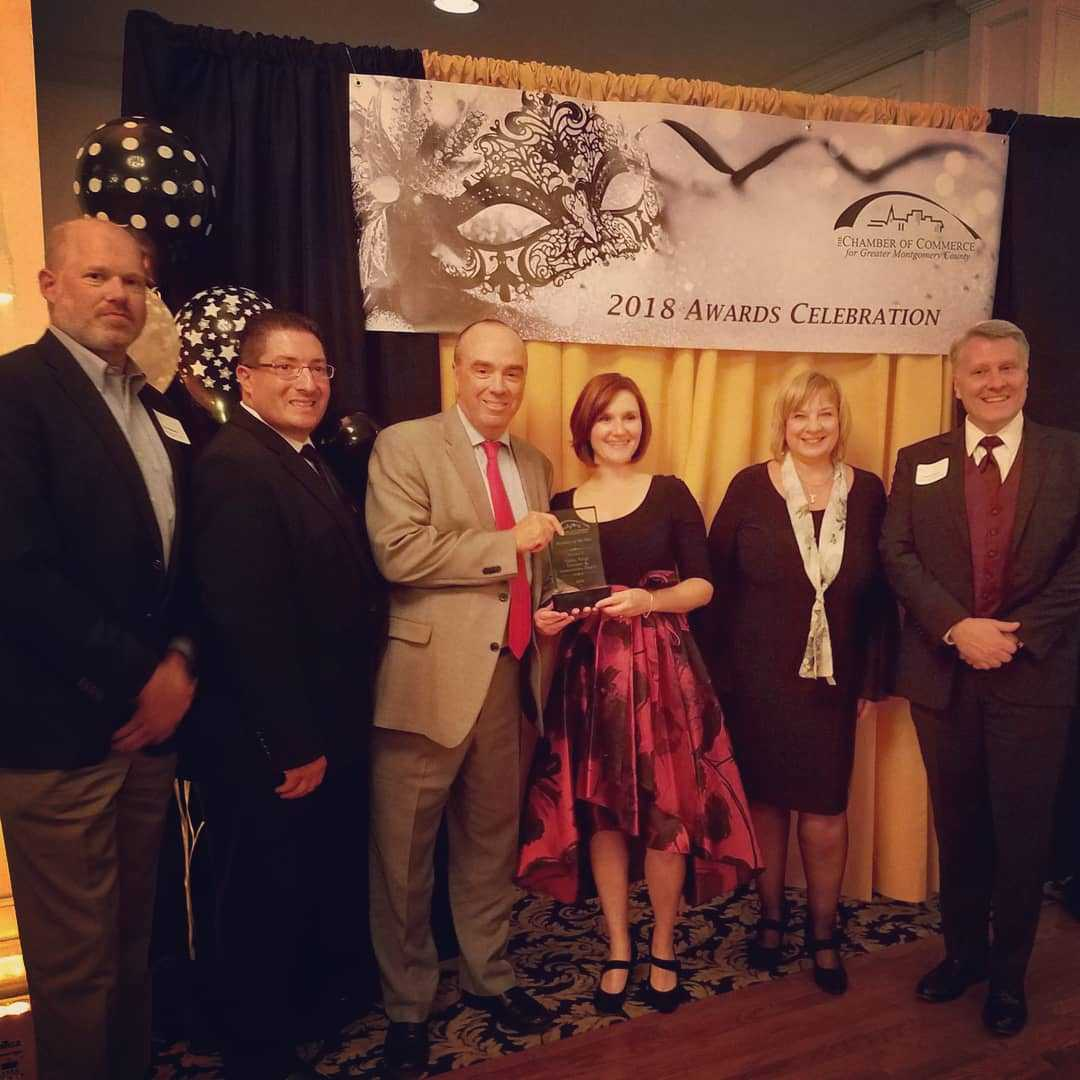 Valley Forge Tourism & Convention Board takes home team awards