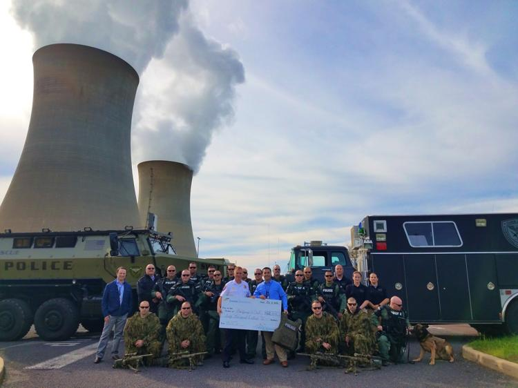 Montgomery County SWAT gets $60K boost from Limerick Generating Station