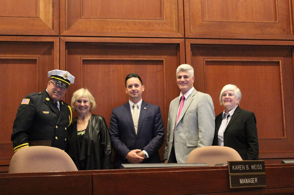 Plymouth firefighters honored by township