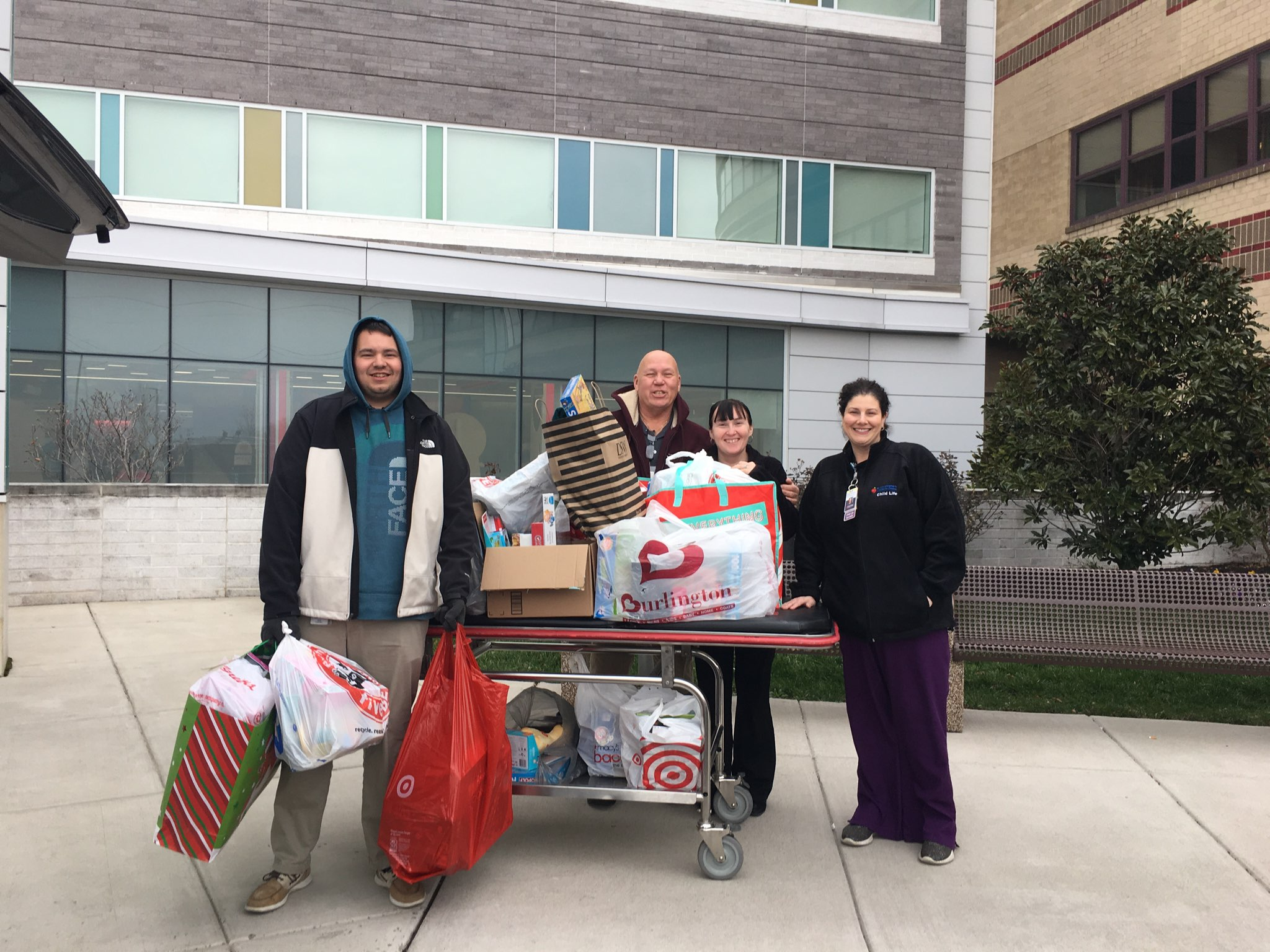Trumark makes holidays a little brighter for hospitalized children