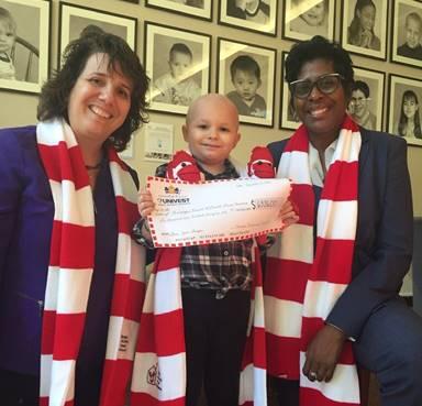 Souderton-based Univest raises nearly $7000 for Ronald McDonald House