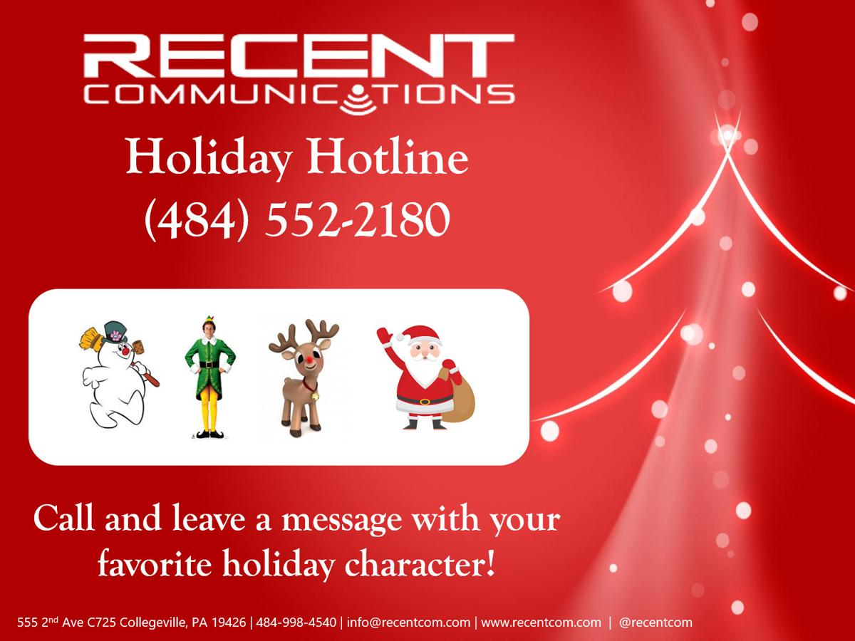 Recent Communications rings in the season with holiday hotline