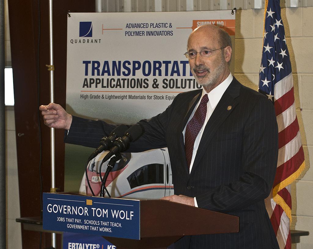 Governor Wolf outlines plan to restore critical Pennsylvania infrastructure