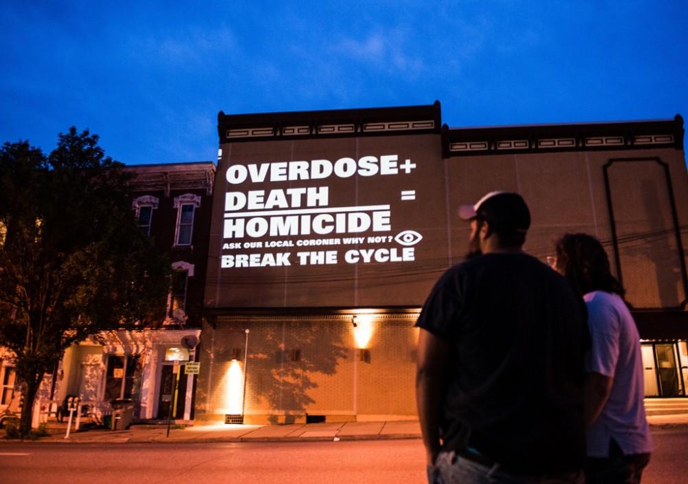 Exhibition at Berman Museum explores opioid crisis through artist's lens