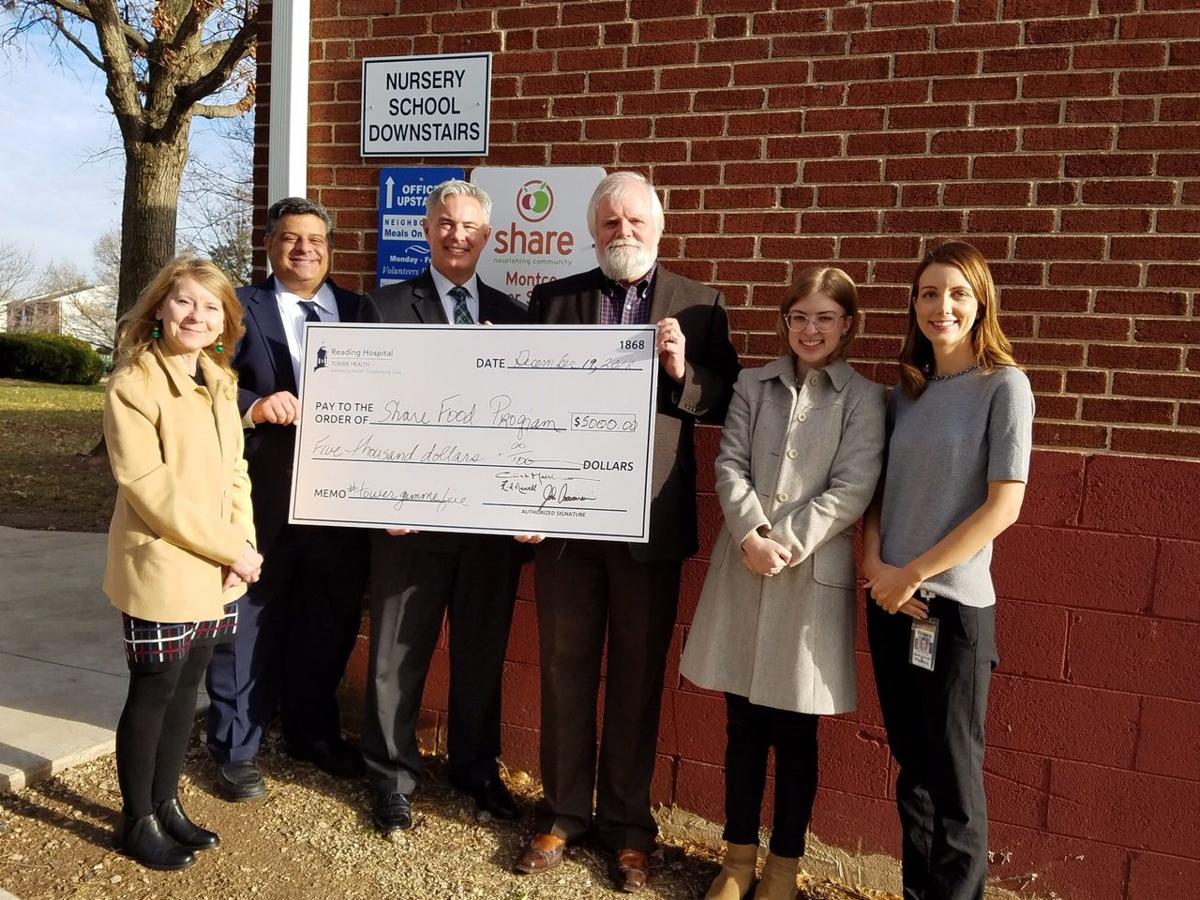 Tower Health makes donations to King of Prussia food bank