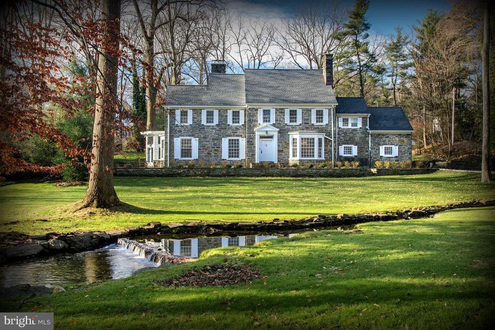 House of the Week: Bryn Mawr stone colonial