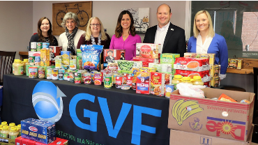 3,000 lbs. of food raised by regional businesses to help those in need