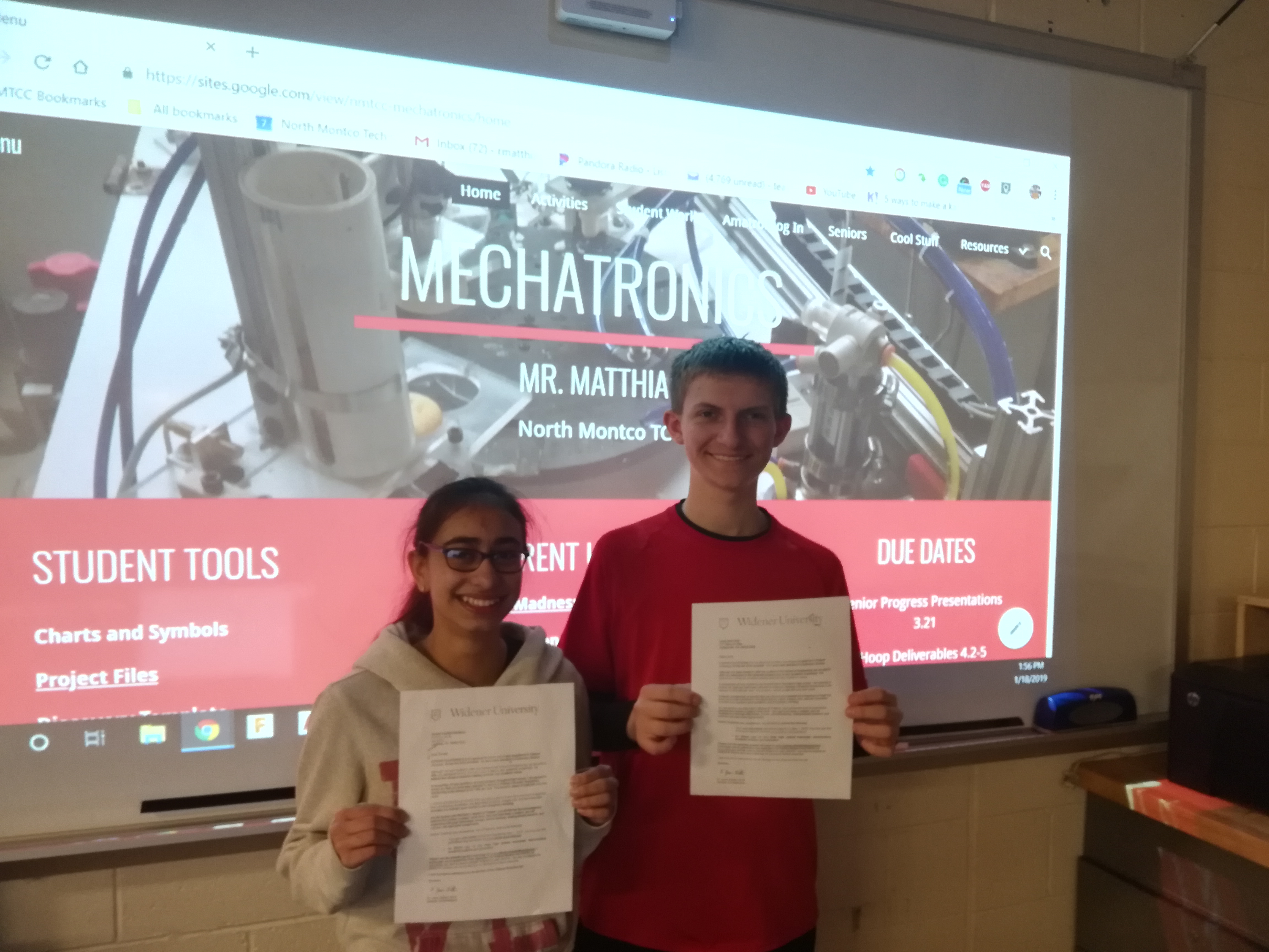 $196K awarded to two mechatronics students at NMTCC in Lansdale