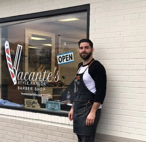 Vacante's style parlor and barber shop turning heads two years running
