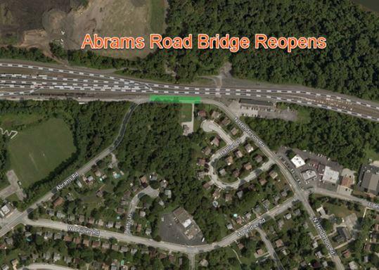 PennDOT reopens Abrams Road Bridge in Upper Merion Township