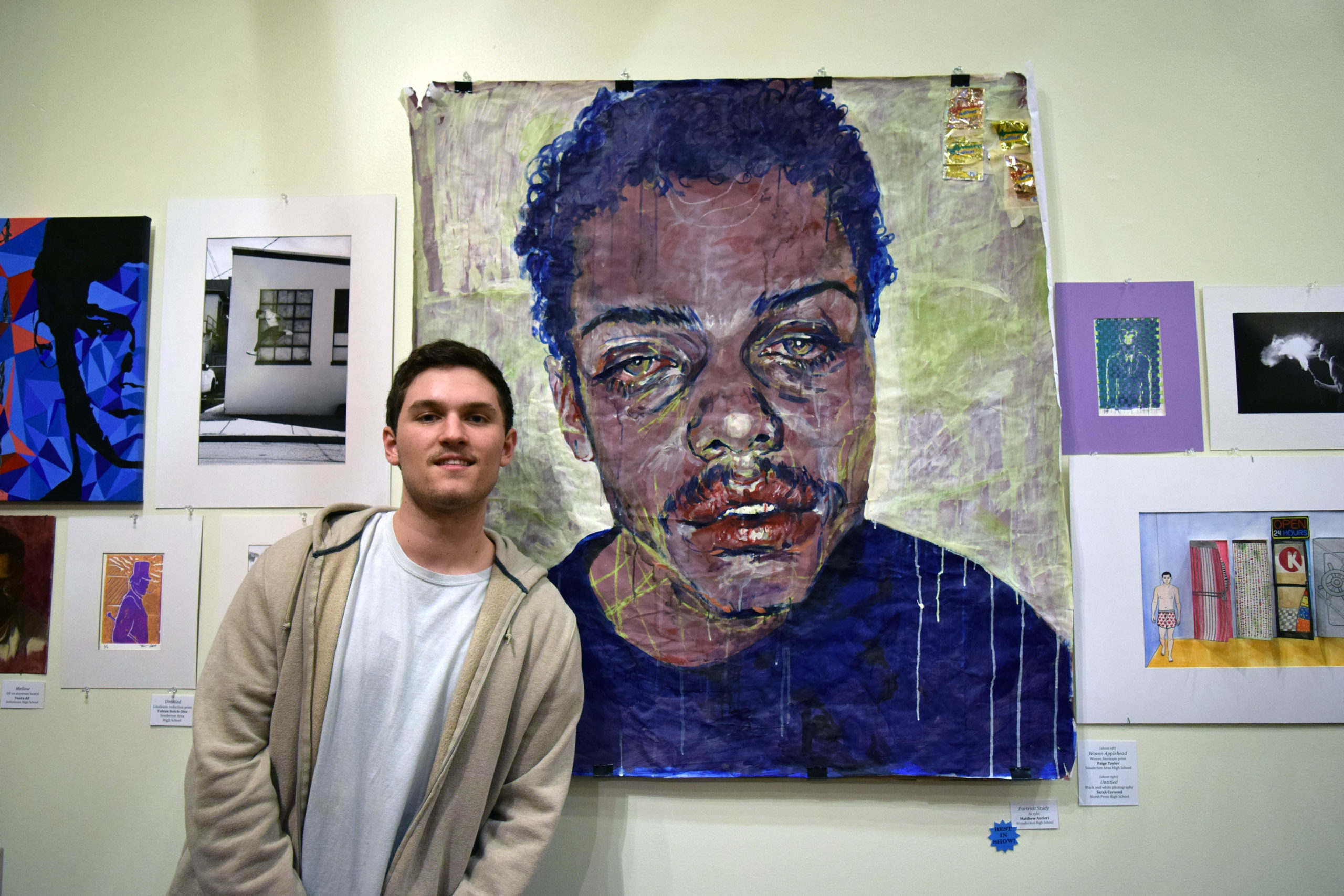 41st Montgomery County High School Exhibition opens at MCCC
