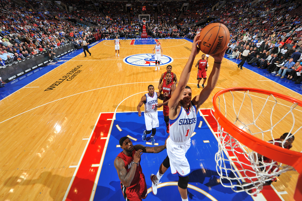 Philadelphia 76ers double in value over two years