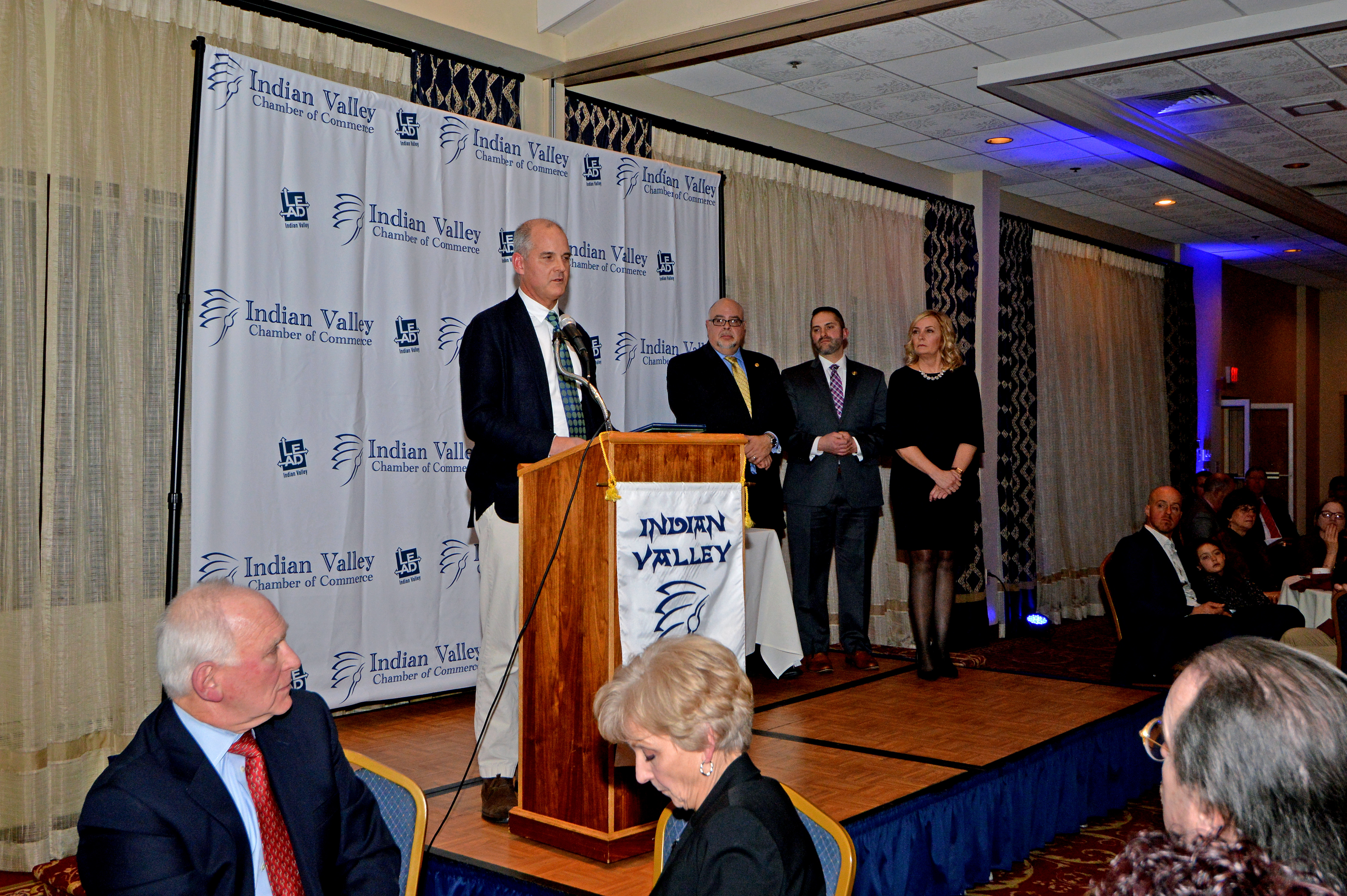 Moyer Indoor | Outdoor honored at the 48th annual Indian Valley Chamber of Commerce banquet