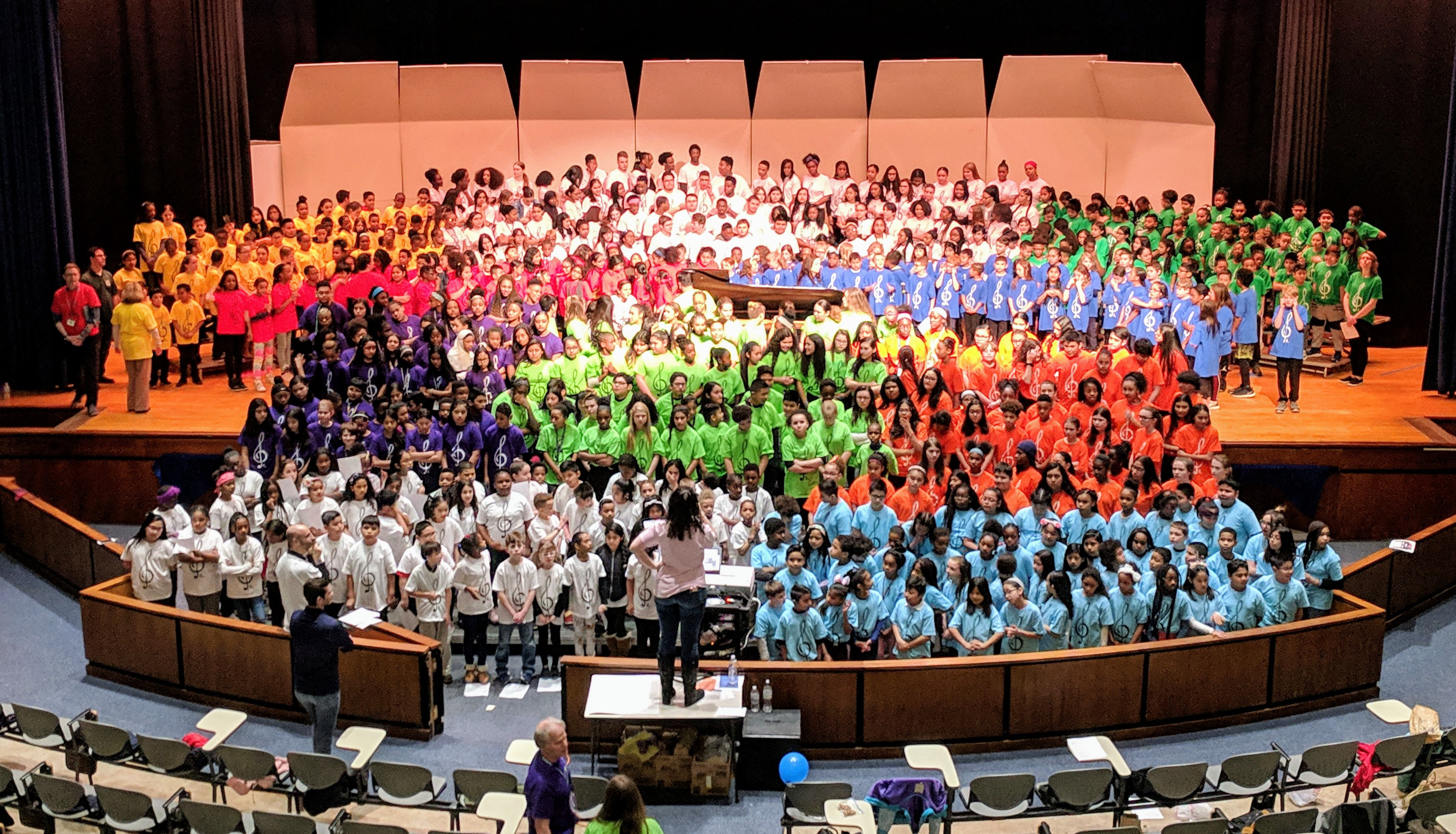 Norristown Area School District welcomes Spring with Choral Festival