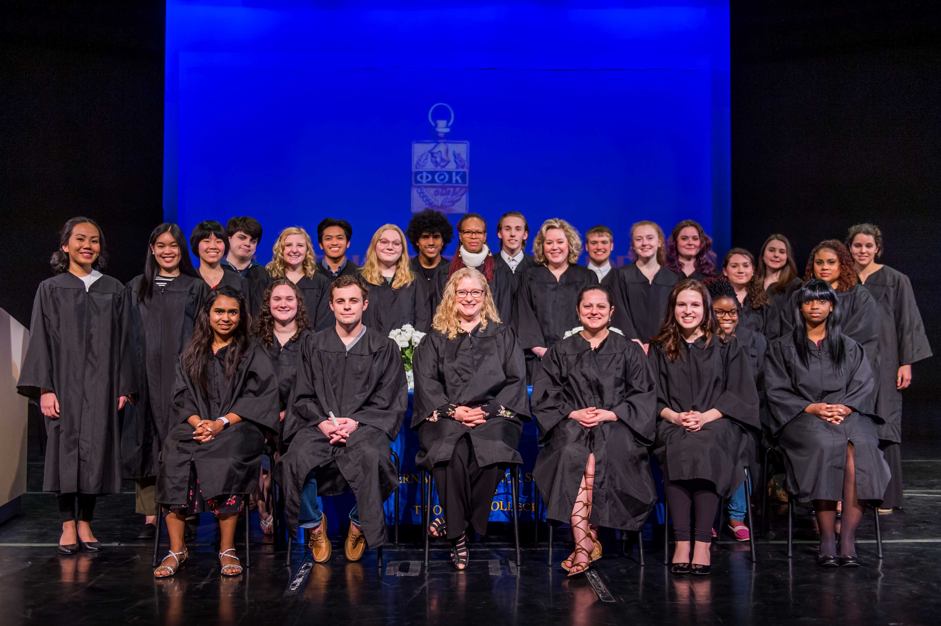 MCCC celebrates the induction of new Phi Theta Kappa Honor Society members