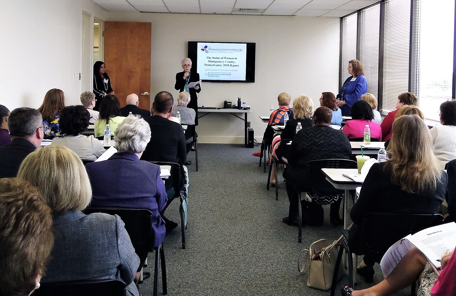 Montgomery County Foundation launches report on women's status