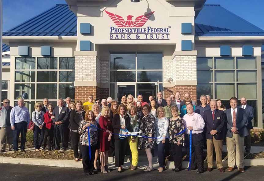Phoenixville Federal Bank reopens Royersford Branch