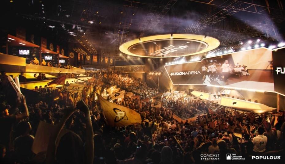 Comcast to build e-sports arena in Philadelphia