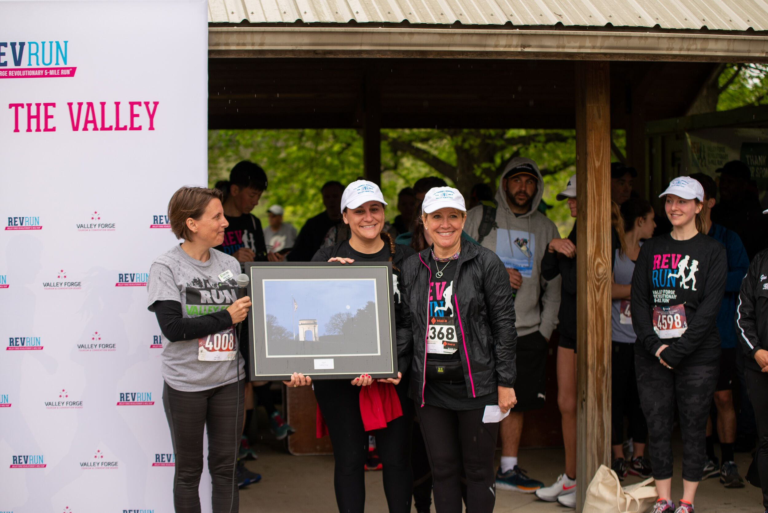 VFTCB presents Spirit of Valley Forge Award to widow of long-time park runner