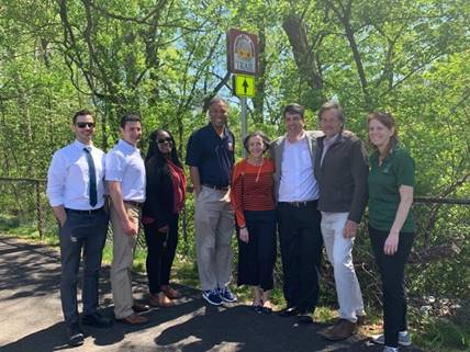 Montgomery County Commissioners open Pottstown section of Schuylkill River Trail