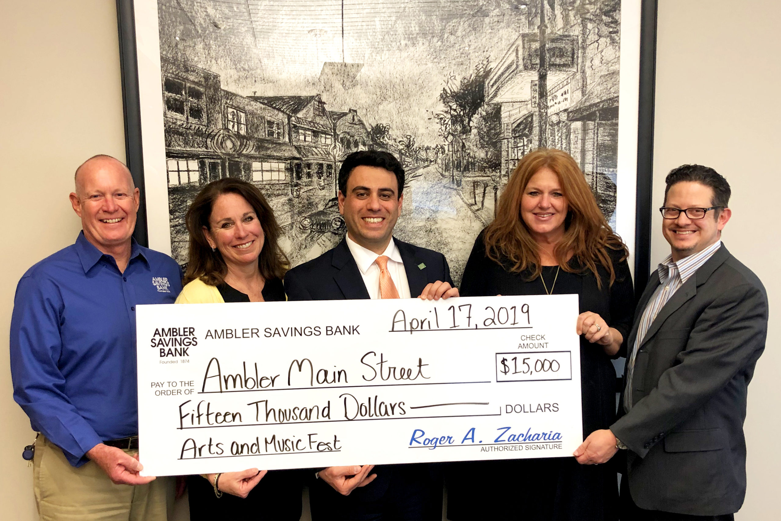 Ambler Arts and Music Fest receives $15,000 donation