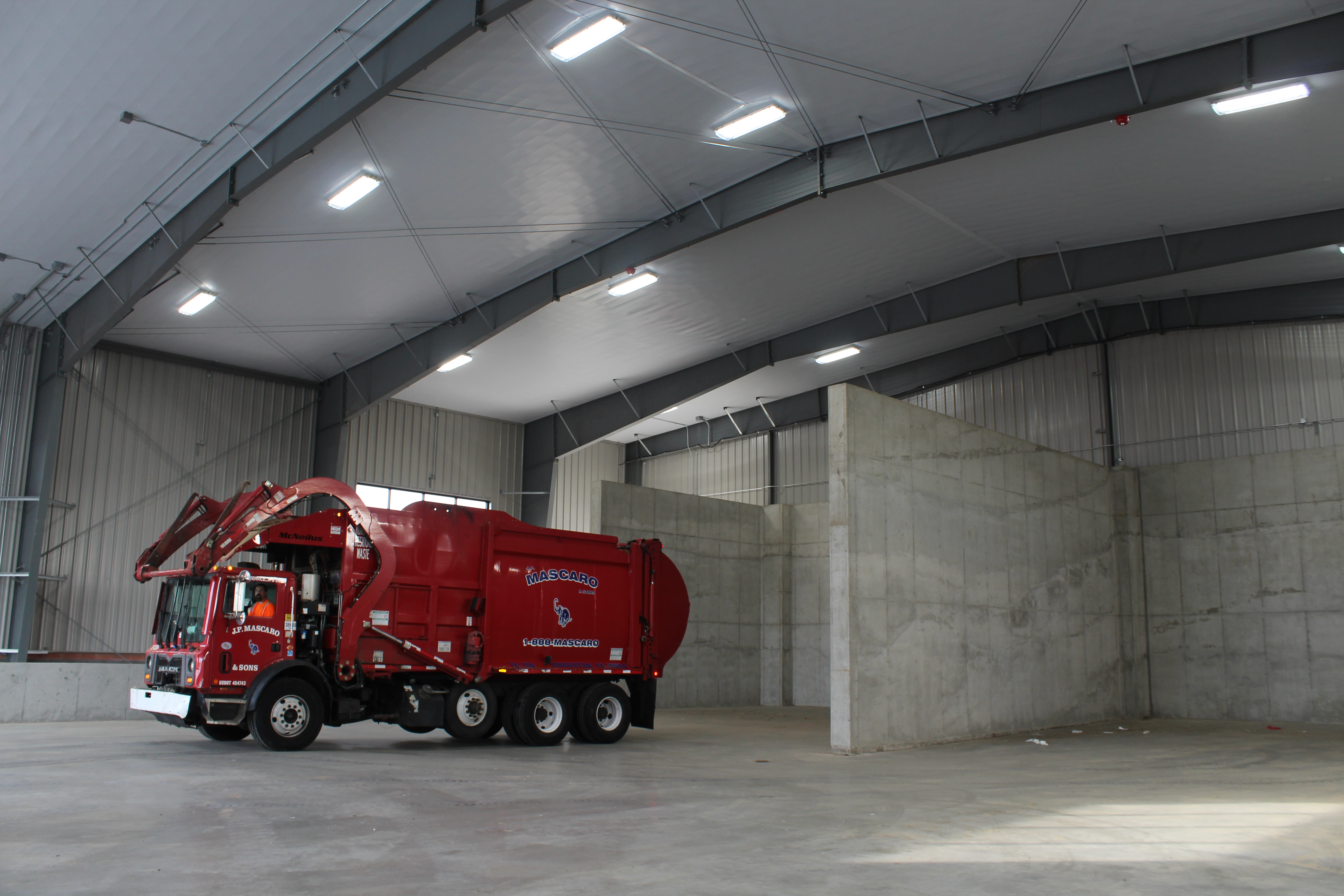 Mascaro opens new transfer station in Franconia Township