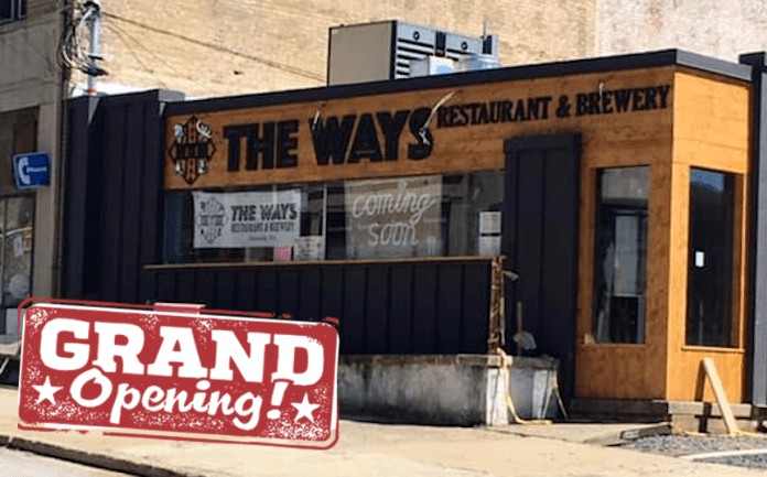 Grand Opening: The Ways Brewery and Restaurant