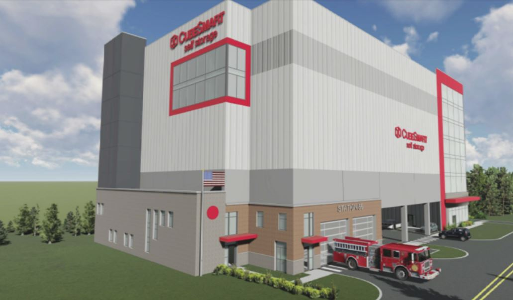 King of Prussia to be home to unique combo of firehouse and storage facility
