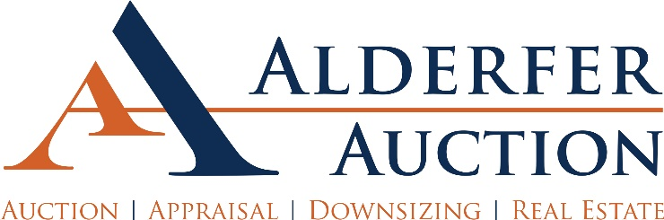 Alderfer Auction holds 3-auction, 2-day event of the fine and decorative arts, collector's and discovery art auctions