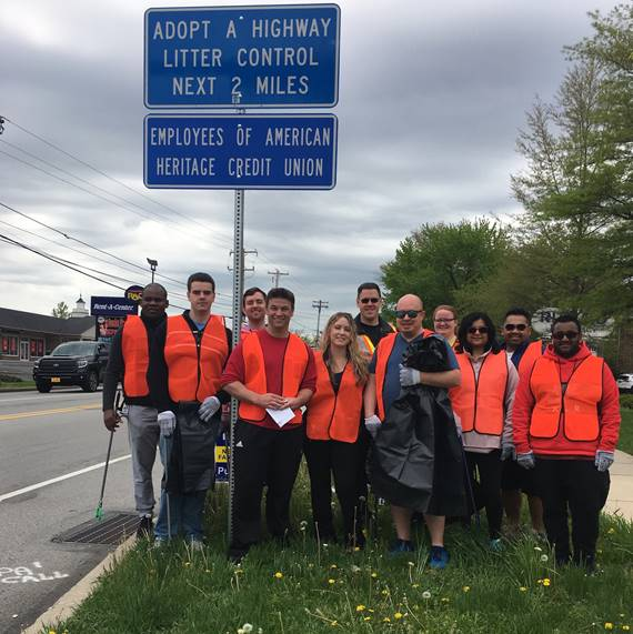 American Heritage Credit Union cleans up the Lansdale community