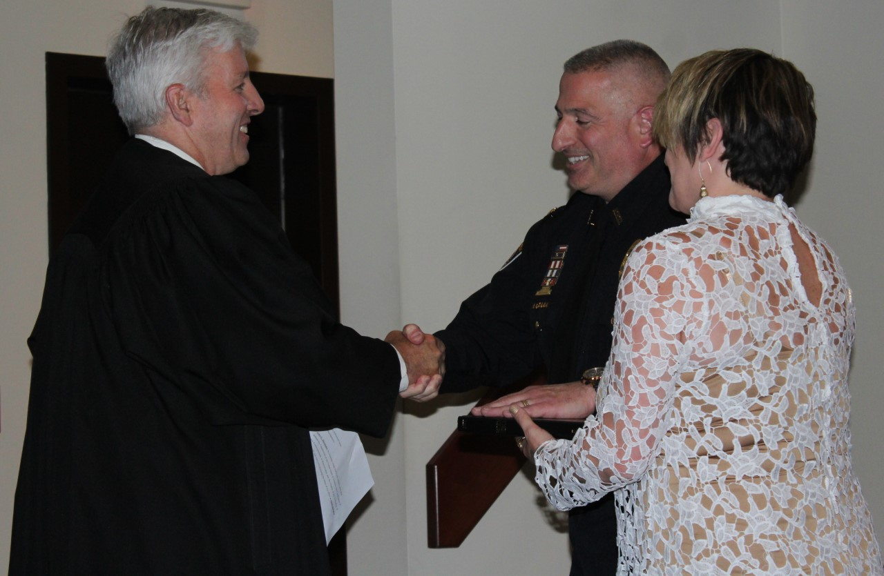 Plymouth Township swears in new police chief