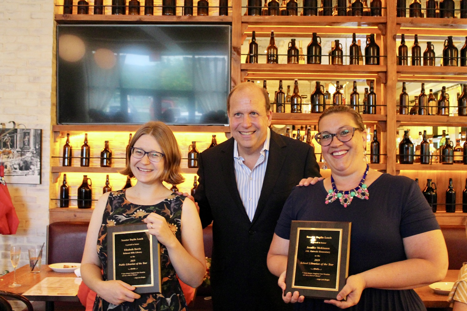 State Sen. Leach recognizes two outstanding librarians from Montgomery County