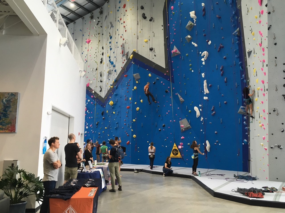 Reach Climbing and Fitness holds Bridgeport grand opening