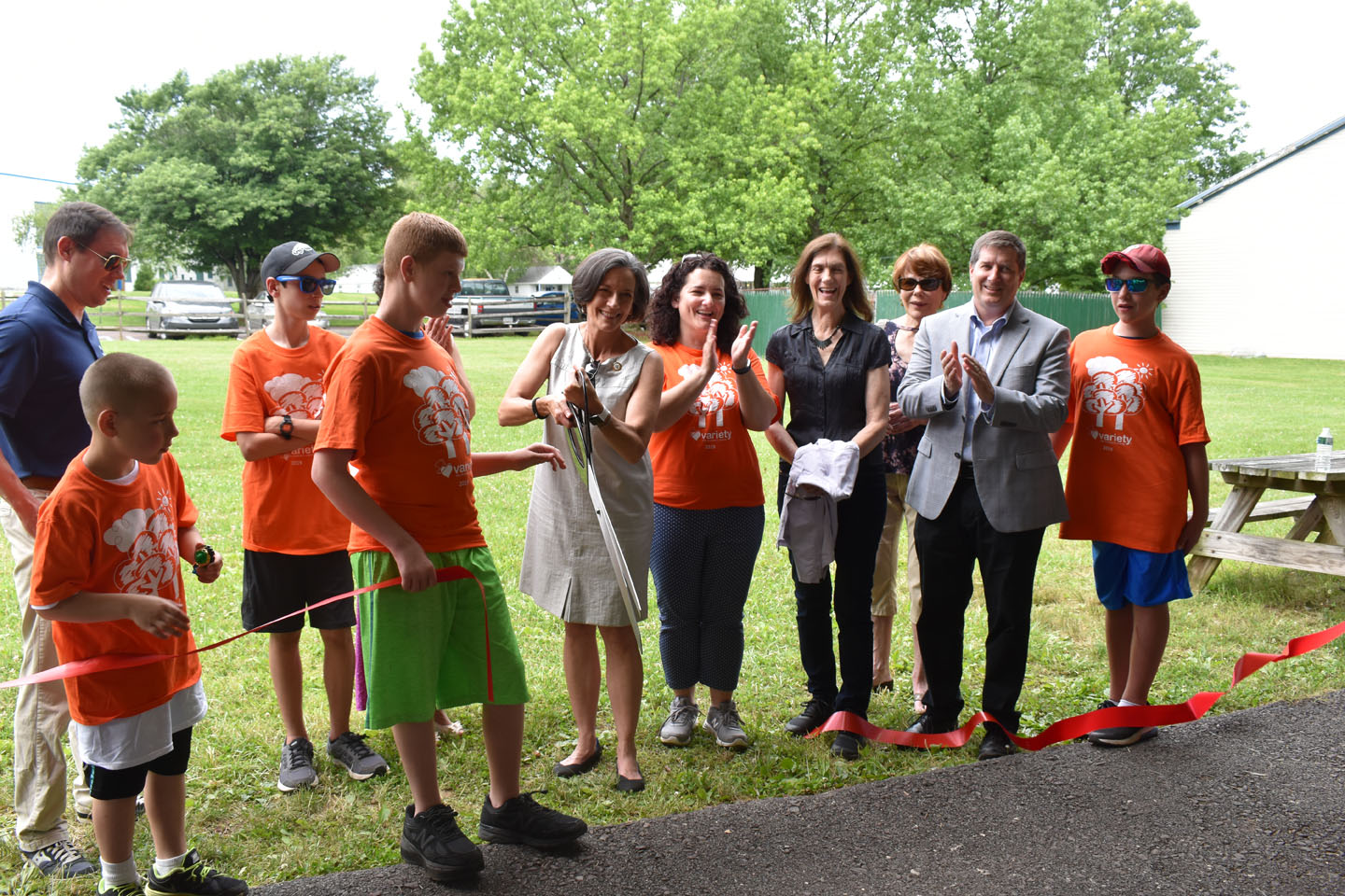 Montgomery County officials help Variety open its 69th summer camp