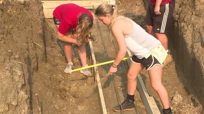 St. Joe's students building a better tomorrow in Sioux Falls, SD