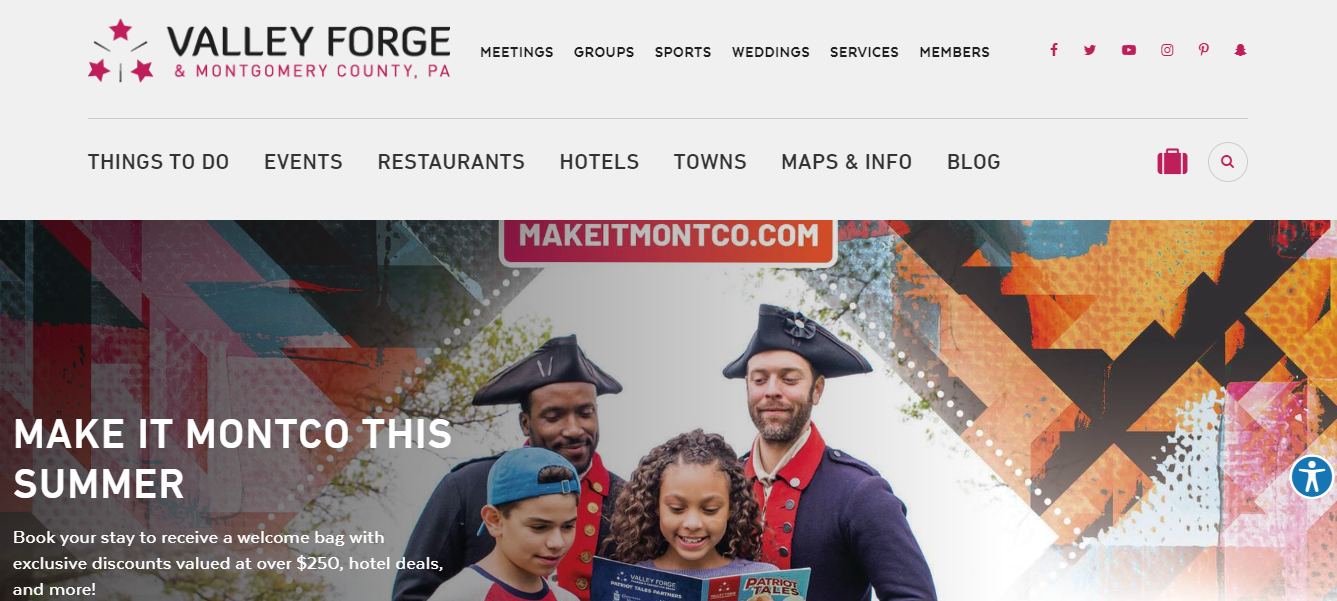Montgomery County visitors can book summer getaways on VFTCB website