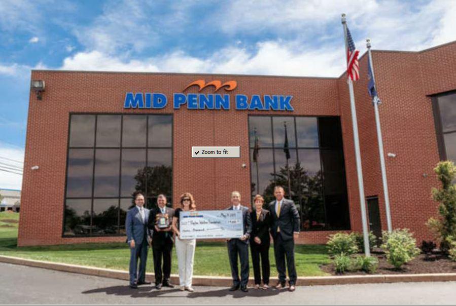 Mid Penn Bank makes donation to combat Sudden Cardiac Arrest