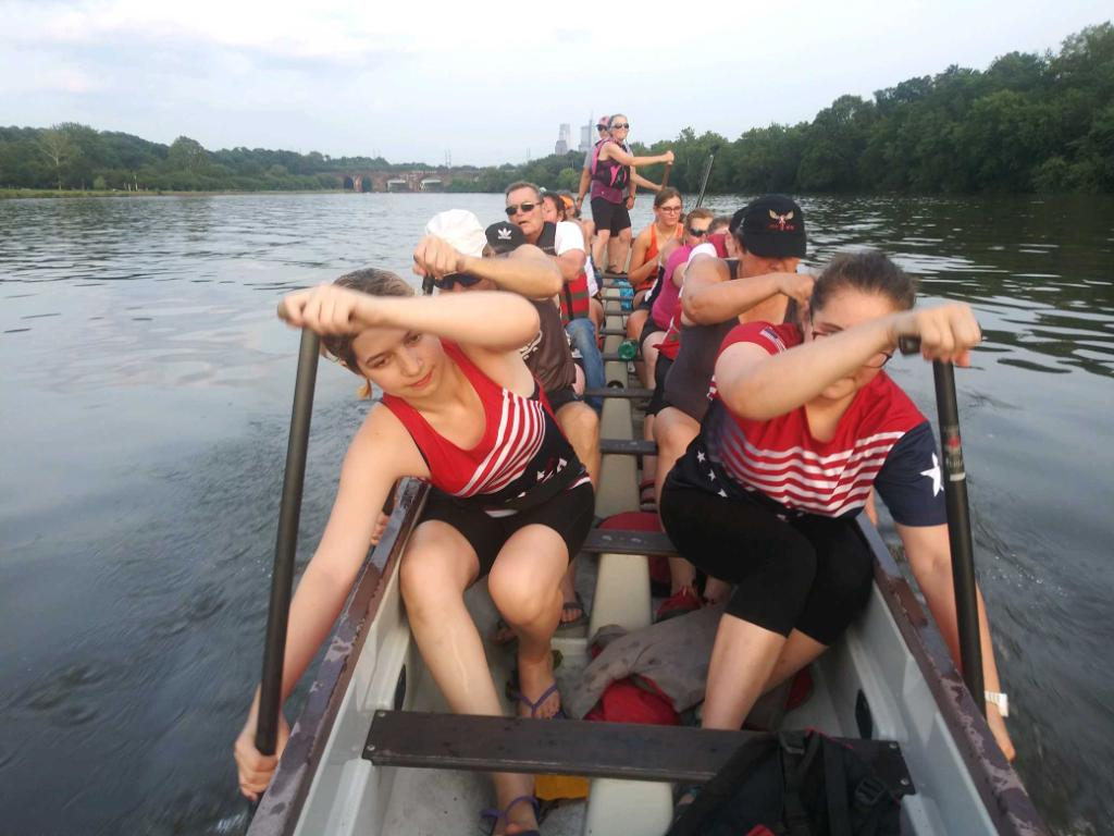 Wynnewood female dragon boater will compete in Thailand with Team USA