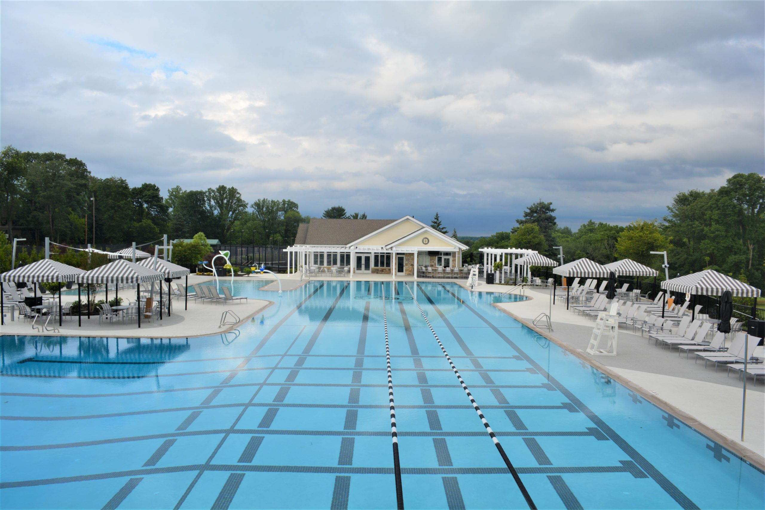 Philadelphia Country Club opens new Olympic-size pool