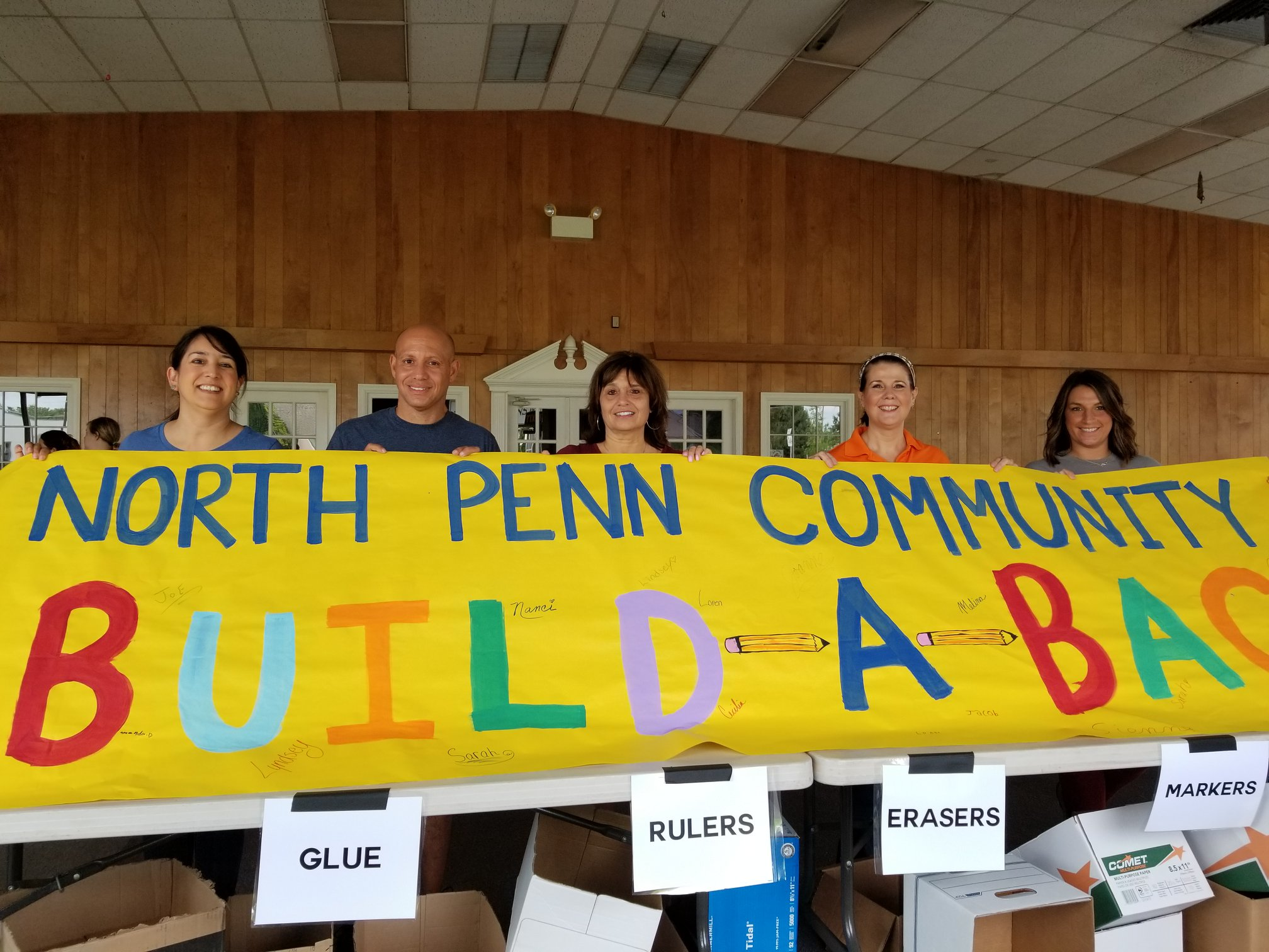 North Penn 'Build a Backpack and School Supply Drive' now underway