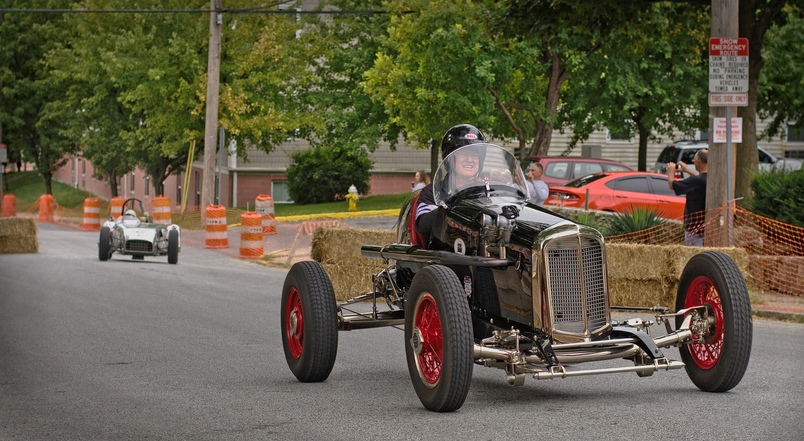 Return to the golden age of early American Sports Car racing at Coatesville Invitational Vintage Grand Prix