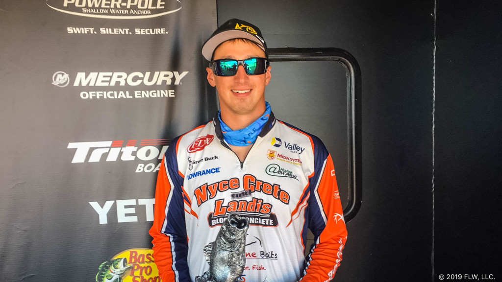 Montco's Buck wins T-H Marine FLW Bass Fishing League tournament