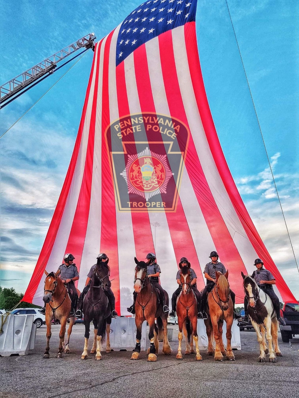 PA state police seek horse donations