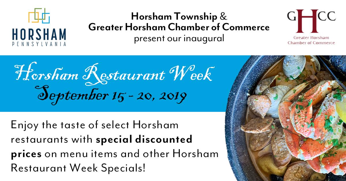 Horsham Restaurant Week announced for September