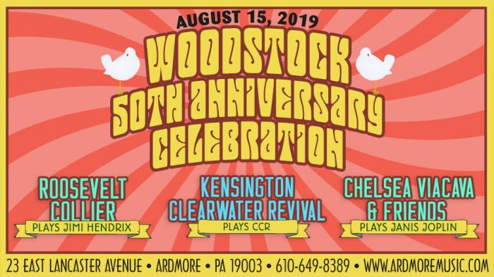 Celebrate Woodstock's 50th anniversary at Ardmore Music Hall with tributes to Hendrix, Joplin and CCR